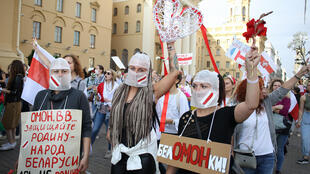 Belarus was gripped by months of demonstrations against the rule of President Alexander Lukashenko after he claimed an overwhelming victory in an August election the opposition said was rigged