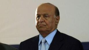 Le président yéménite Abd-Rabbo Mansour Hadi, le 7 février 2012 à Sanaa.