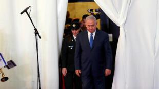 صورة أرشيفية لرئيس الوزراء الإسرائيلي بنيامين نتانياهو