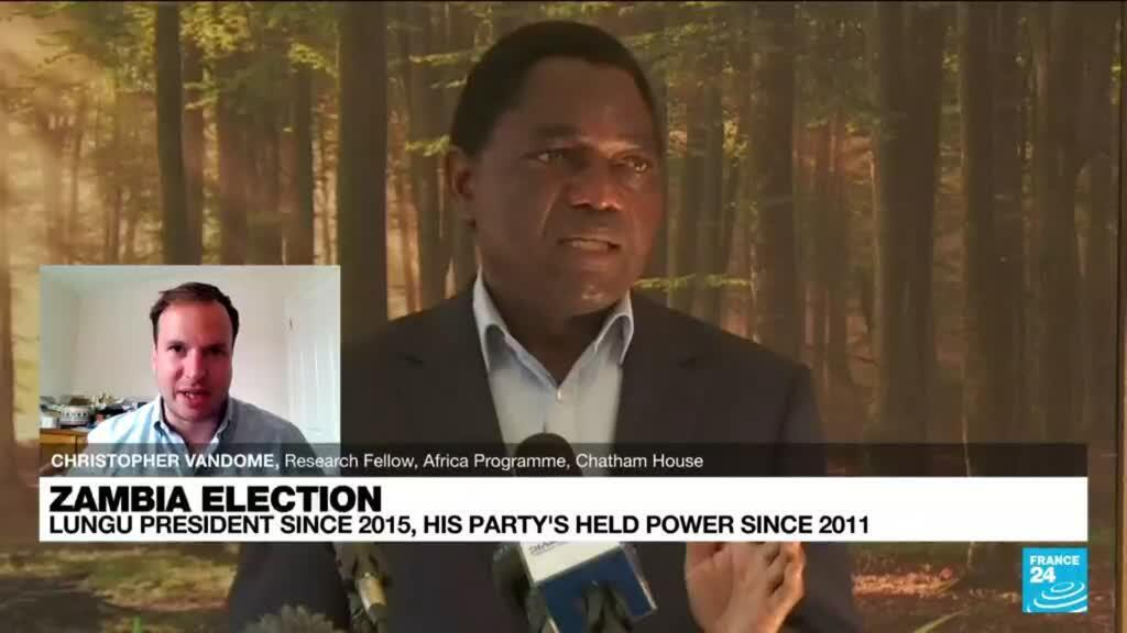 2021-08-12 12:08 Elections in Zambia will be 'one of the tightest vote' in the country's history