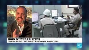 2021-02-23 09:07 Iran nuclear sites: Tehran begins limiting access to IAEA inspectors