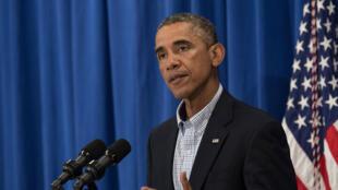 """Le président américain a promis une stratégie à """"long terme"""" en Irak"""