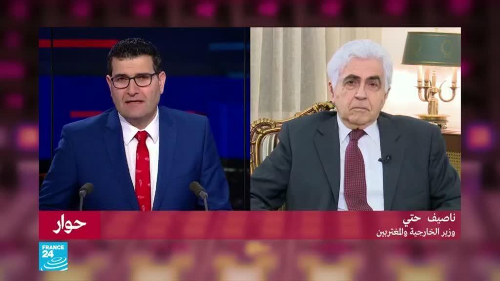 ناصيف حتي: العلاقات مع سوريا ستعود في وقتها
