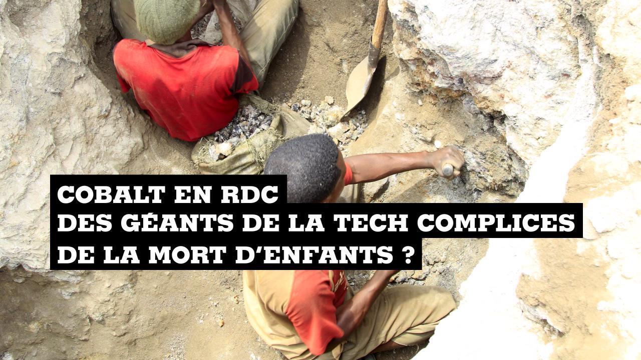 Mine artisanale de cobalt en RDC