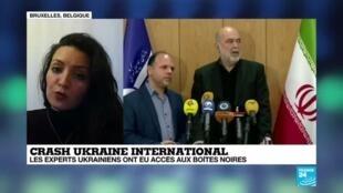 "2020-01-10 20:04 Hanieh Ziaei sur France 24: ""Chaque année, le Canada accueille beaucoup d'Iraniens"""