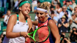 Jelena Ostapenko a brillamment validé son billet pour la finale dames de Roland-Garros.