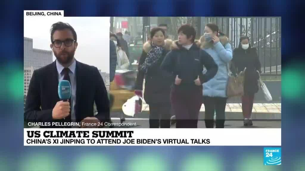 2021-04-22 08:01 China's Xi to attend online Biden climate summit