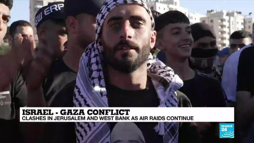 2021-05-19 08:31 Israel-Gaza conflict: In occupied West Bank, Palestinians cry 'resistance'