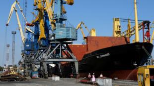 La Russie s'est emparée de trois navires ukrainiens qui tentaient d'accéder à la mer d'Azov, selon l'Ukraine, le 25 novembre 2018.