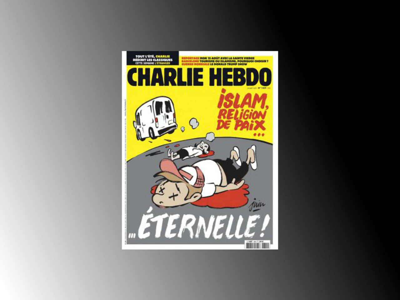 French Satirical Magazine Charlie Hebdo Draws More Controversy With New Cartoon On Islam