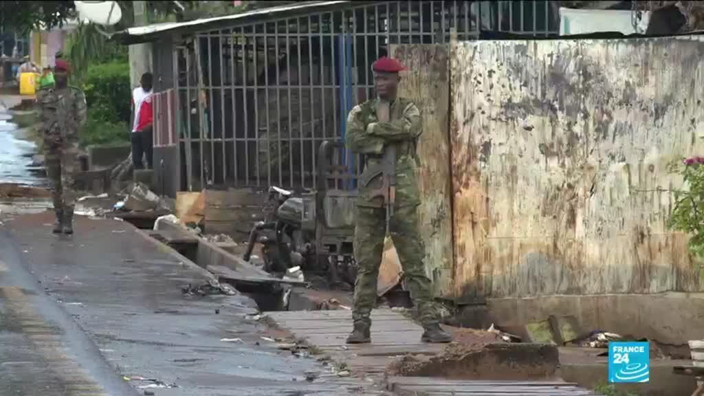 Un soldat ivoirien déployé dans la ville de M'Batto.