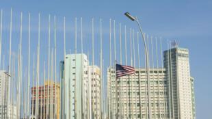 L'ambassade des États-Unis à Cuba, en 2015.
