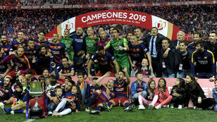 Le Barça a longtemps peiné face au FC Séville (2-0, a.p.)