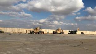مدرعات عسكرية أمريكية في قاعدة عين الأسد الجوية في محافظة الأنبا ، العراق في 13 كانون الثاني/ يناير 2020.