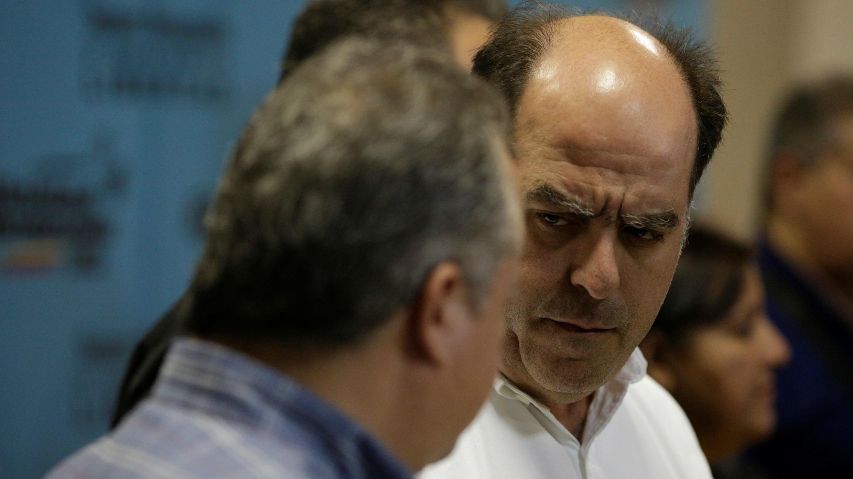 Julio Borges, presidente de la Asamblea Nacional de Venezuela.