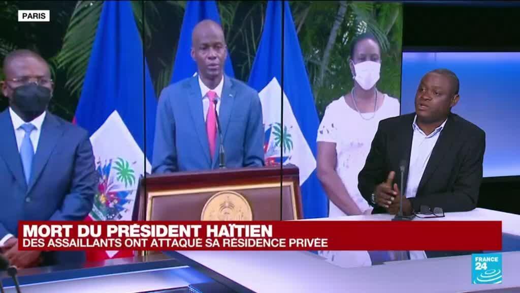 """2021-07-07 13:40 Mort du président haïtien : """"Aujourd'hui on assiste à une situation malheureusement prévisible"""""""