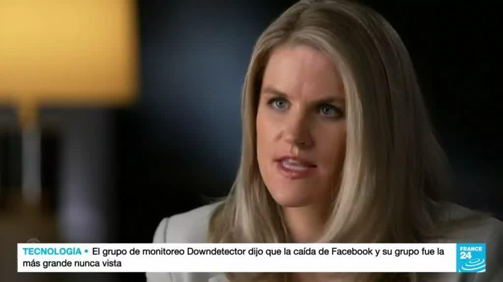 2021-10-05 15:10 Exejecutiva de Facebook denunció a la red social ante el Senado de EE. UU.