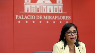 La vicepresidenta, Delcy Rodríguez, anunció a través de Twitter la denuncia que hará a la OEA ante la ONU. Foto de archivo.