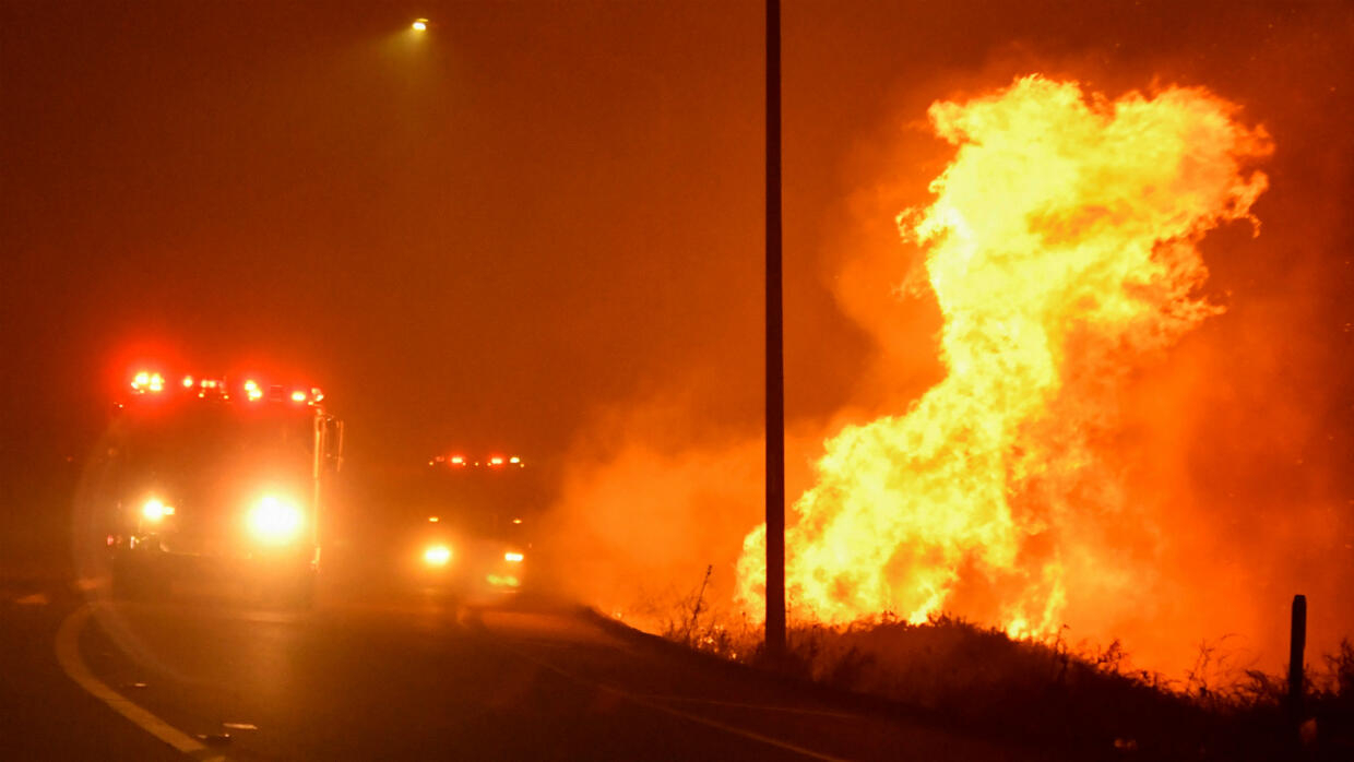more than 100,000 ordered to evacuate amid wildfires near