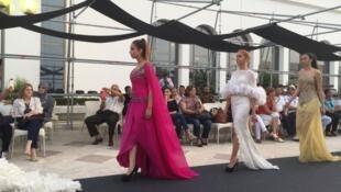 أزياء من تصميم نبيل الهياري