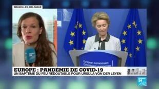 2020-04-08 08:05 Pandémie de Covid-19 : Les discussions à 27 sur le plan de relance en Europe s'enlise