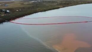 pkg russie maree rouge