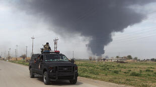 L'offensive irakienne pour reprendre Tikrit à l'EI est lancée depuis le 2 mars.