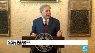2021-03-03 09:33 Texas governor lifts state's mask mandate, business restrictions