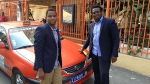 Issa Sidibé et Ange Pete, co-créateurs de Taxi Jet.