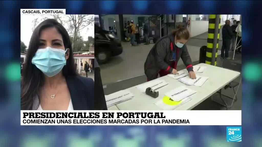 2021-01-24 13:36 Informe desde Cascais: en Portugal avanzan elecciones presidenciales marcadas por la pandemia