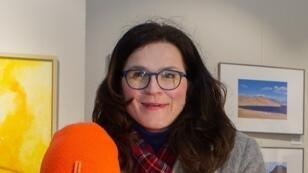 Aleksandra Dulkiewicz lors des élections municipales de Gdansk, le 3 mars 2019.
