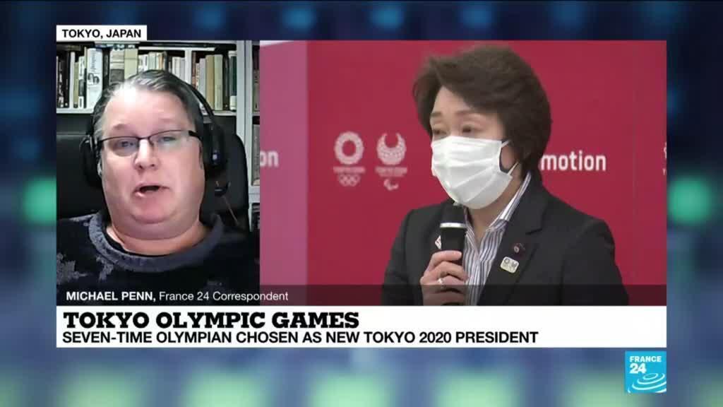 2021-02-18 09:37 Seiko Hashimoto takes over as Tokyo Olympic president