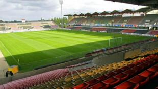 Le stade de Roudourou, antre de l'En Avant de Guingamp, accueille les champions du monde.