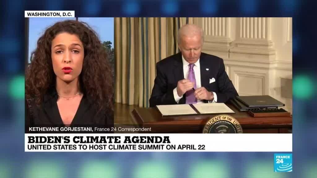 2021-01-27 18:09 Biden aims for most ambitious US effort on climate change