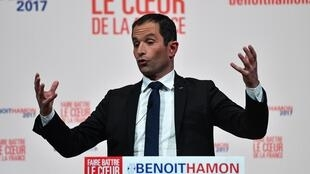 Benoît Hamon est le principal tenant à gauche de l'instauration d'un revenu universel.