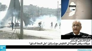 عضو اللجنة التنفيذية لمنظمة التحرير الفلسطينية صائب عريقات