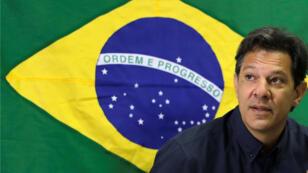 Fernando Haddad, candidato a la Presidencia de Brasil por el Partido de los Trabajadores el 15 de octubre de 2018.