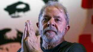 Lula à Sao Paulo, le 22 février 2018.