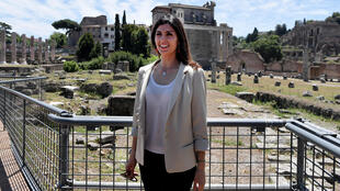 Rome's first female mayor, Virginia Raggi swept onto the national stage in 2016 after serving on the city council for three years
