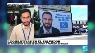 El Salvador: Partido del presidente Bukele lograría amplio triunfo en legislativas