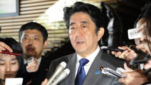 Le Premier ministre nippon, Shinzo Abe, a exprimé mercredi matin sa profonde indignation face aux menaces de l'EI.