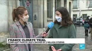 2021-01-14 13:08 France climate trial: NGOs accuse govt of climate inaction, bring case to court