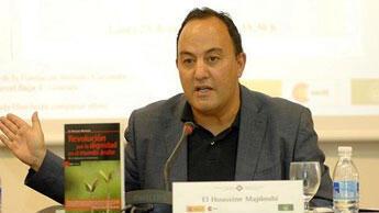 """الحسين المجدوبي المتخصص في العلاقات المغربية الإسبانية ومدير نشر موقع """"ألف بوست""""-20131017"""