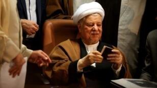 الرئيس الإيراني الأسبق أكبر هاشمي رفسنجاني