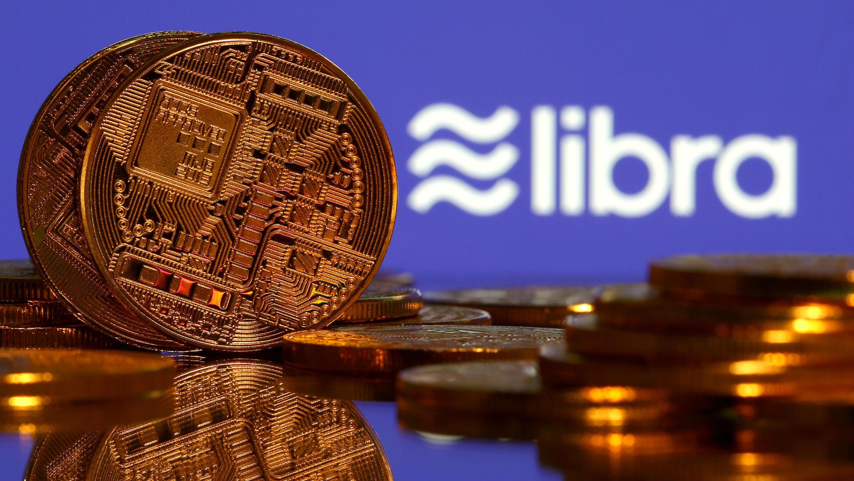 Representación de Libra, la criptomoneda de Facebook.