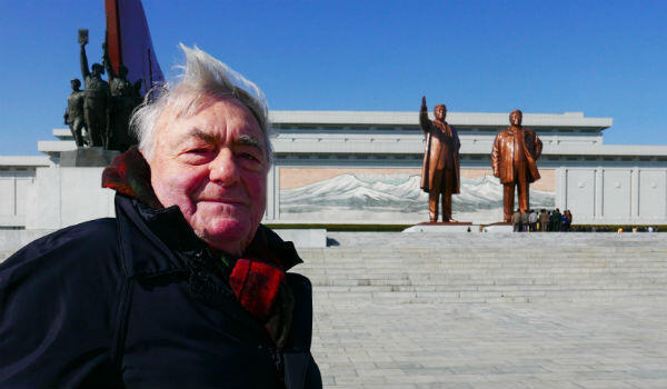 Veteran director Claude Lanzmann, aged 91, has brought a new documentary back from the land of the Kims. Photo courtesy of the Cannes Film Festival