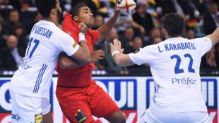 Les Français ont été balayés par le Danemark, en demi-finale du mondial de handball, à Hambourg, le 25 janvier 2019.