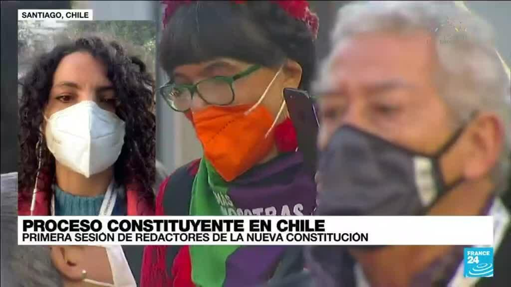 2021-07-04 17:02 Informe desde Santiago: inicia primer sesión de redactores de la nueva Constitución chilena