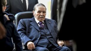 الرئيس الجزائري عبد العزيز بوتفليقة في نوفمبر/تشرين الثاني 2017