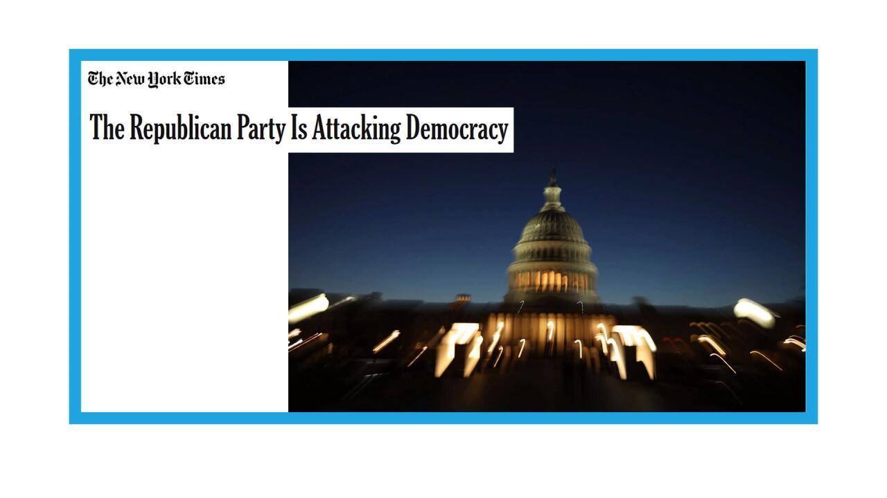 Le capitole de Washington, aux Etats-Unis